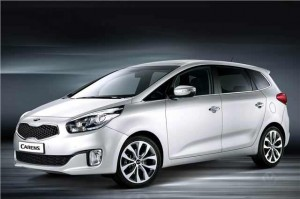 Kia Carens - Front View 2013 model