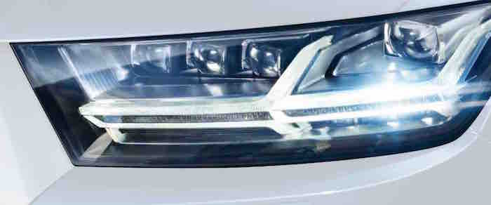 Audi-Q7 2015 Matrix LED Lights