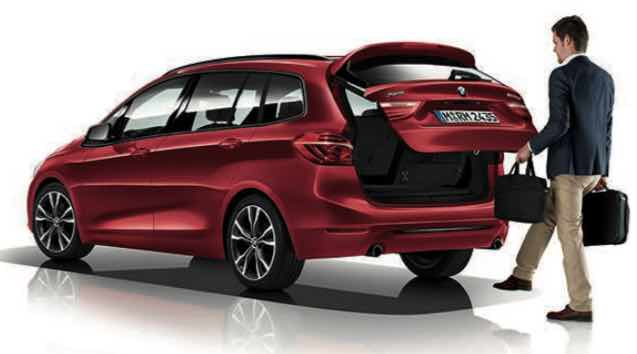 BMW Gran Tourer 2 Series Boot Space