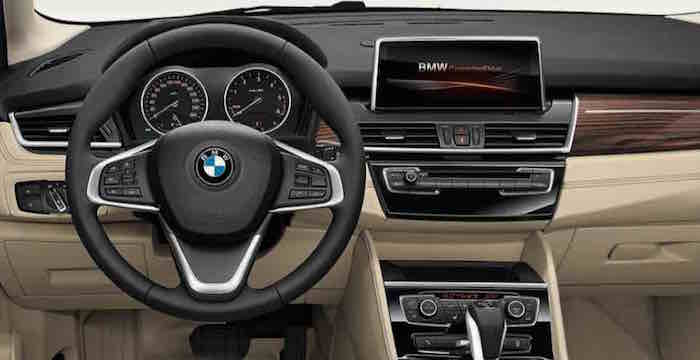 BMW Gran Tourer 2 Series Cockpit