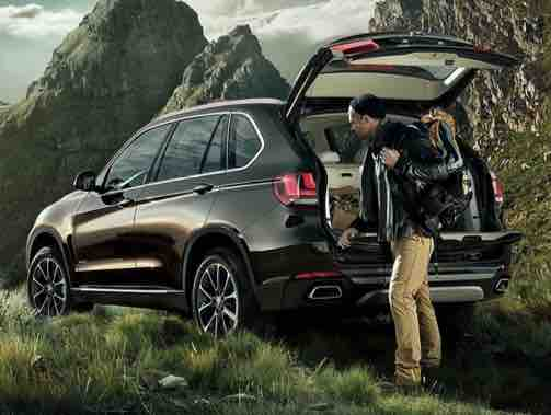 BMW X5 Third Generation Boot Space