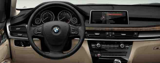 BMW X5 Third Generation Cockpit