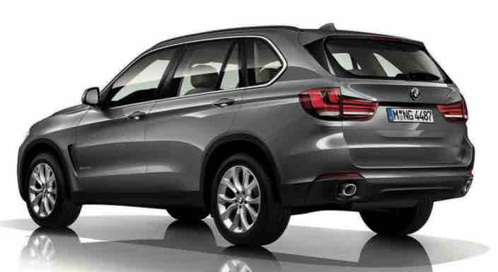 BMW X5 Third Generation Rear View