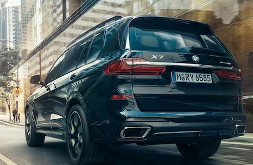 BMW X7 Exterior Rear View