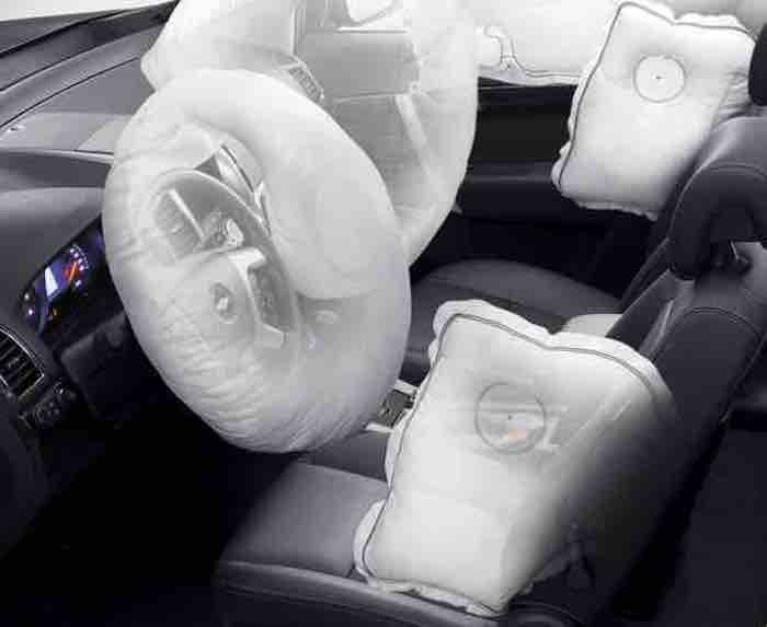 Chevrolet-Captiva Airbags