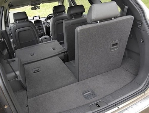 Chevrolet-Captiva Boot Space