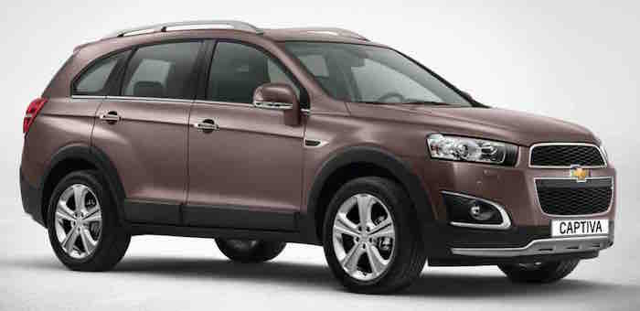 Chevrolet Captiva - Side View