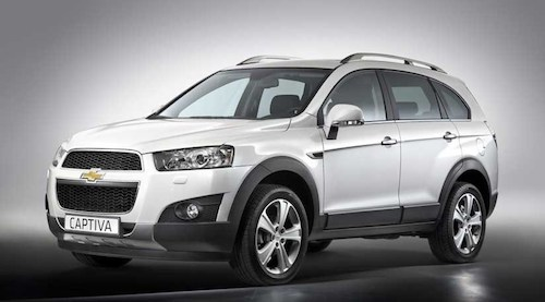 Chevrolet-Captiva 7-seater