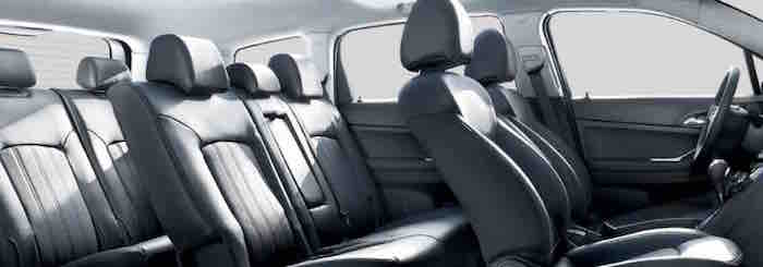 Chevrolet Orlando with 3 rows of seats