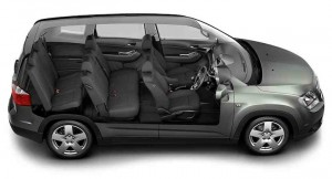 Chevrolet Orlando Interior Seating