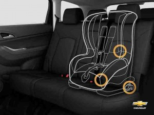 Chevrolet Orlando With Child Car Seat