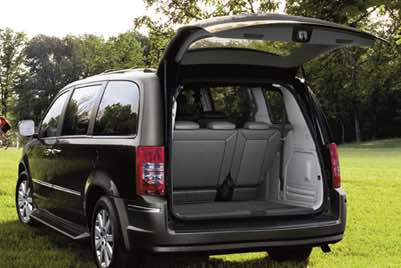 Chrysler Grand Voyager Boot Space