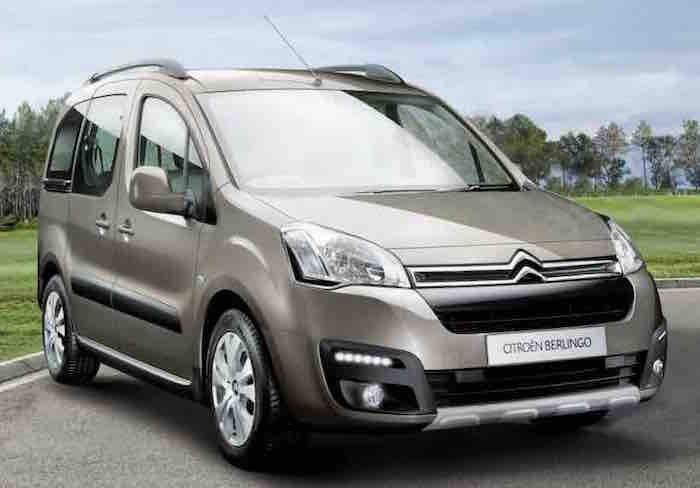 Citroen Berlingo Multispace Front View 2015