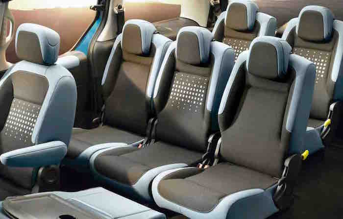 Citroen Berlingo Multispace Interior Seven Seats