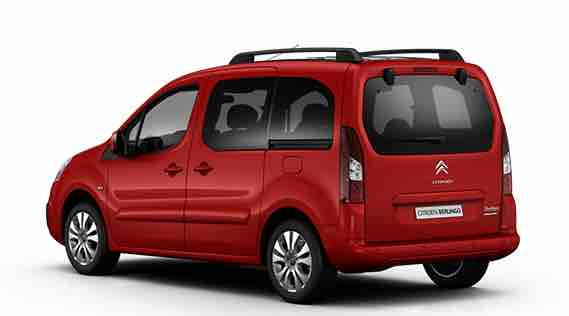Citroen Berlingo Multispace Front View Red