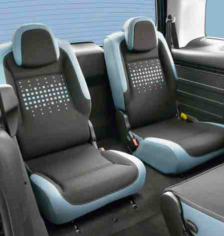 Citroen Berlingo Multispace Third Row Seats