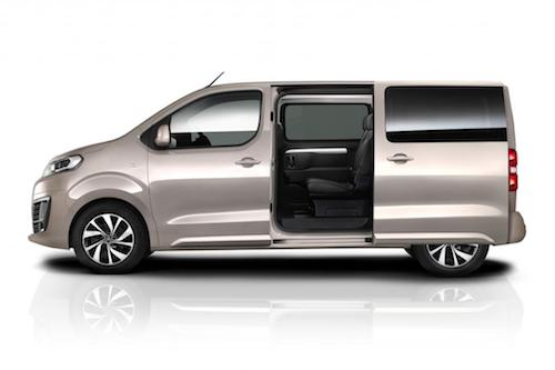Citroen Space Tourer Side