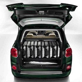 Fiat 500L MPW - Boot Space