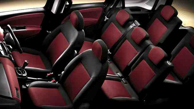 Fiat Doblo Interior Seating