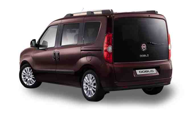 Fiat Doblo Side View