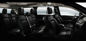 Fiat Freemont Interior Seating