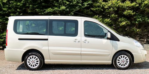 fiat scudo passenger transport vehicle with up to nine seats. Black Bedroom Furniture Sets. Home Design Ideas