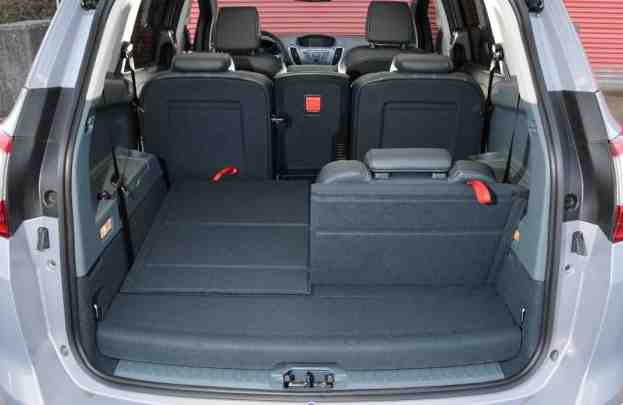 Ford C Max Grand Boot Space