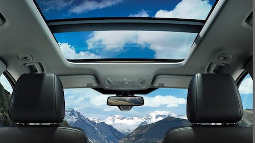 Ford Galaxy Panoramic Sun Roof