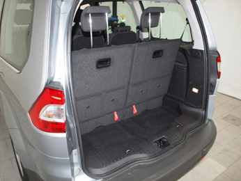 Ford Galaxy Boot Space on Titanium Model