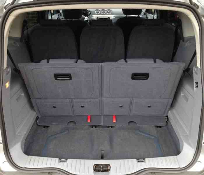 Ford S Max - Boot Space