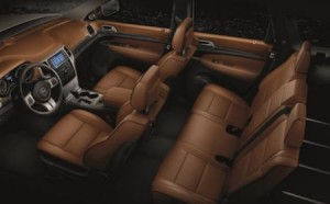 Grand Jeep Cherokee – Leather Interior