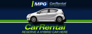 MPG Car Rental Hybrid Cars