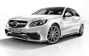 Mercedes Benz E 63 AMG Front View