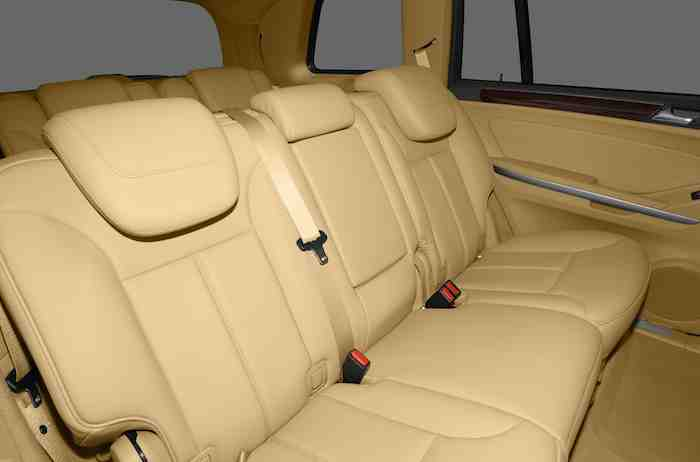 Mercedes Benz GL Class Interior Seating