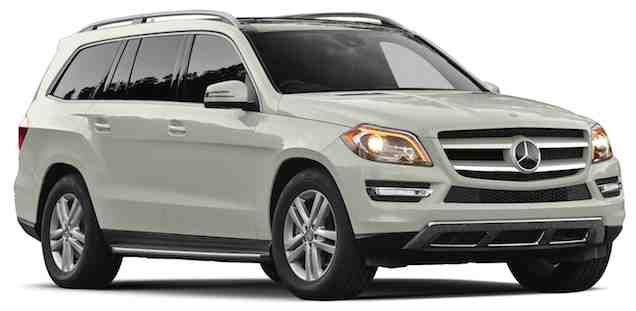 Mercedes Benz GL Class Side View