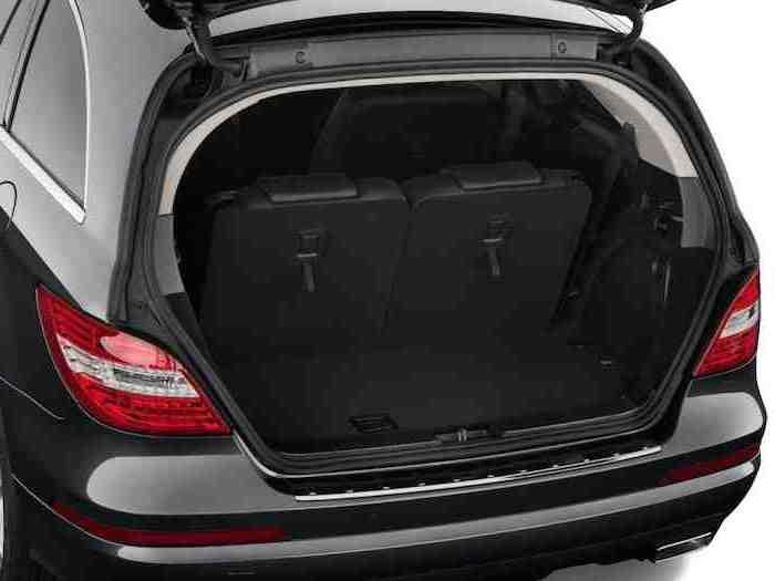 Mercedes Benz R Class Boot Space