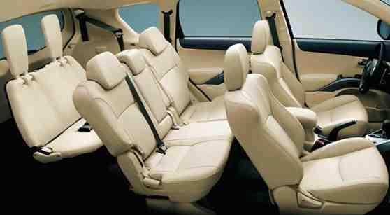 Mitsubishi-Outlander seating