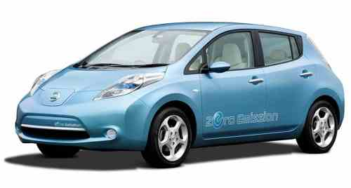 Nissan Leave Eco Car