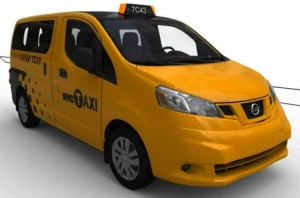 Nissan NV2000 Tax Cabs in New York
