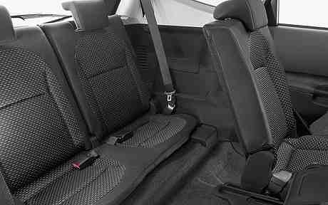 Nissan Quashqai2 Third Row Seating Space
