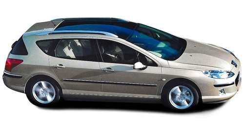 peugeot 407 sw 2nd hand seven seater. Black Bedroom Furniture Sets. Home Design Ideas