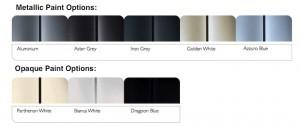 Peugeot Expert Tepee - paint colours