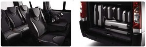 Peugeot Expert Tepee - Interior Boot space