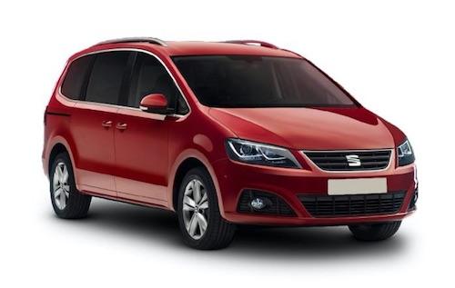 Volkswagen Sharan Verses The Seat Alhambra