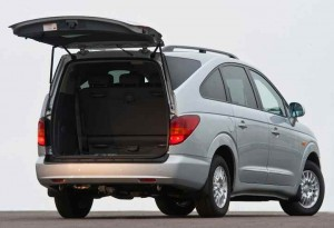 SsangYong Rodius Boot Space