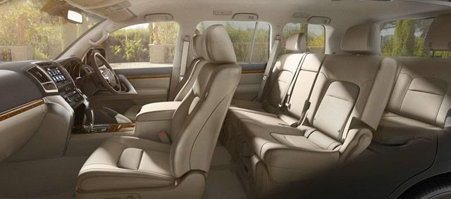 Toyota LC Interior Seating
