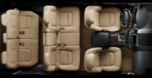 Toyota Land Cruiser interior seating