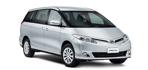 8 seater cars toyota previa vw shuttle viano. Black Bedroom Furniture Sets. Home Design Ideas