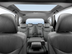 Toyota Prius Plus seating view