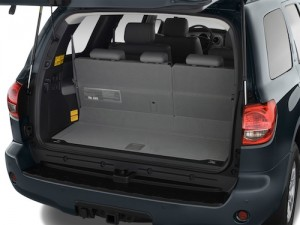 Toyota Sequoia Boot Space